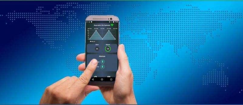 Automação via celular