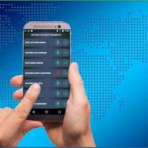 Monitoramento por aplicativo