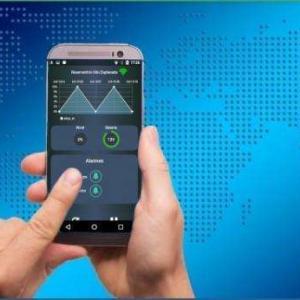 Monitoramento remoto por aplicativo